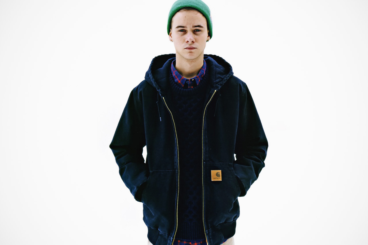 ollie carhartt wip 2012 fall winter collection editorial