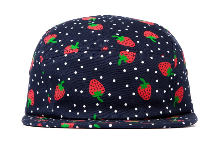 ONLY NY Strawberry 5 Panel Cap