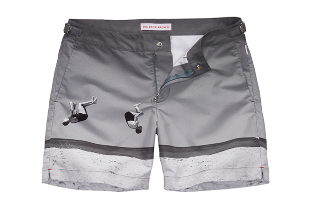 "Orlebar Brown ""Summer-Sault"" George Caddy Swim Shorts"