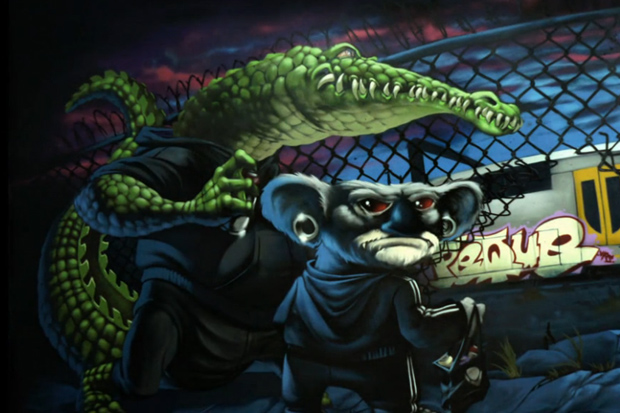 Peque Mural @ MTN Colors Australia Video