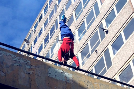 """Peter Parkour"" Commerates the Release of The Amazing Spider-Man on Blu-ray & DVD in the UK"