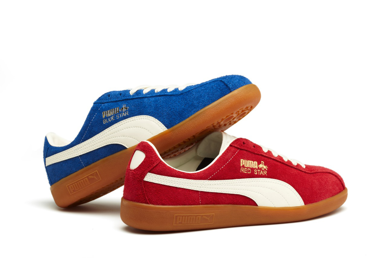 puma shadow society 2012 fall winter red star and blue star