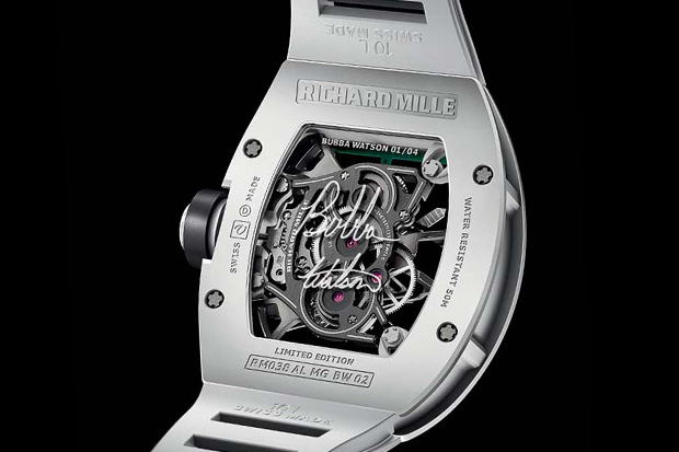 richard mille rm038 bubba watson victory watch