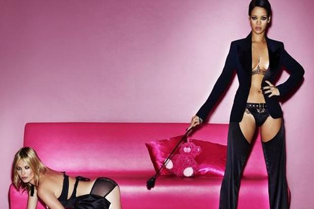Rihanna & Kate Moss Get Naughty for Vogue UK