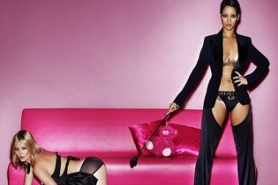 Rihanna & Kate Moss Get Naughty for Vogue UK