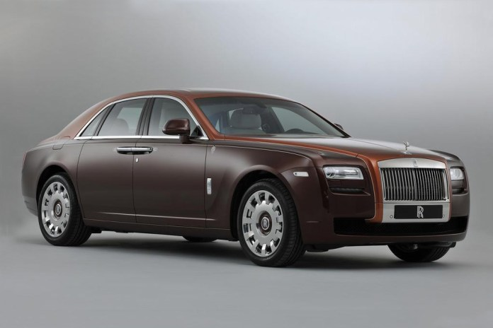 Rolls Royce 'One Thousand and One Nights' Ghost Collection