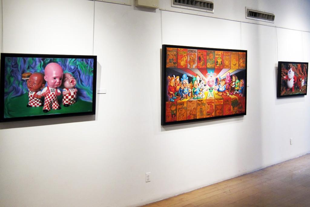 "Ron English ""Crucial Fiction"" @ Opera Gallery"