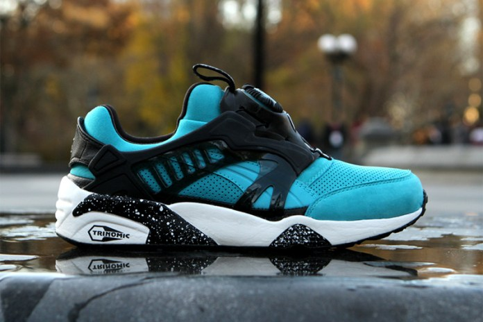 "Ronnie Fieg x PUMA 2012 Disc Blaze OG ""Cove"" - A Closer Look"