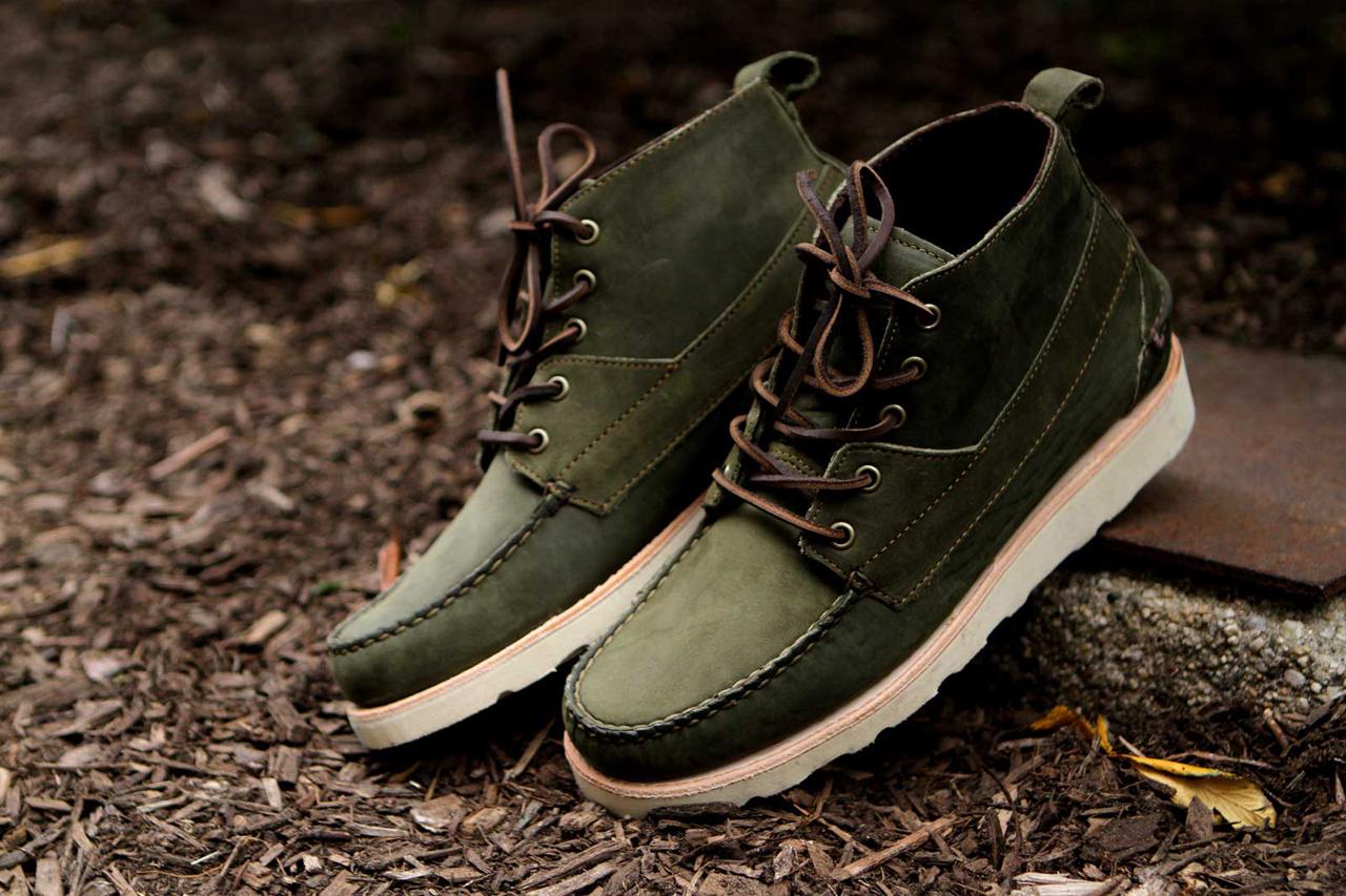 Ronnie Fieg x Sebago 2012 Fall/Winter Iroquois Lux Boots