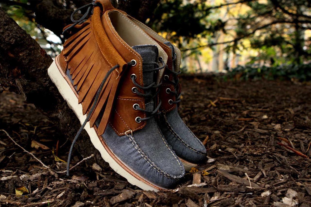ronnie fieg x sebago 2012 fall winter iroquois lux boots