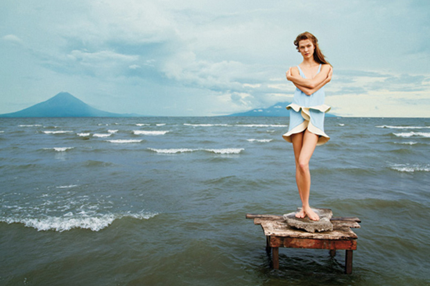 Ryan McGinley Shoots Karlie Kloss for The New York Times
