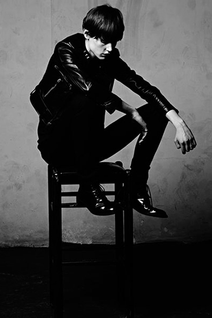 saint laurent 2013 spring summer campaign photoed by hedi slimane