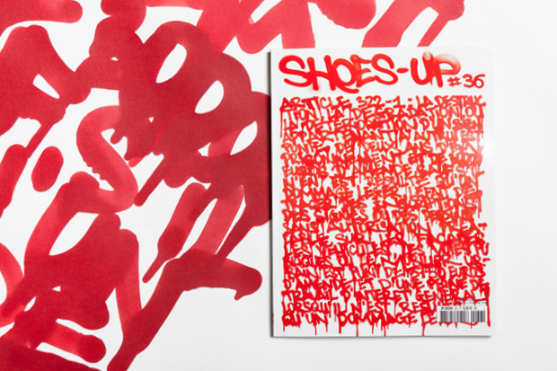 """Shoes-Up #36 """"STREET ART"""""""