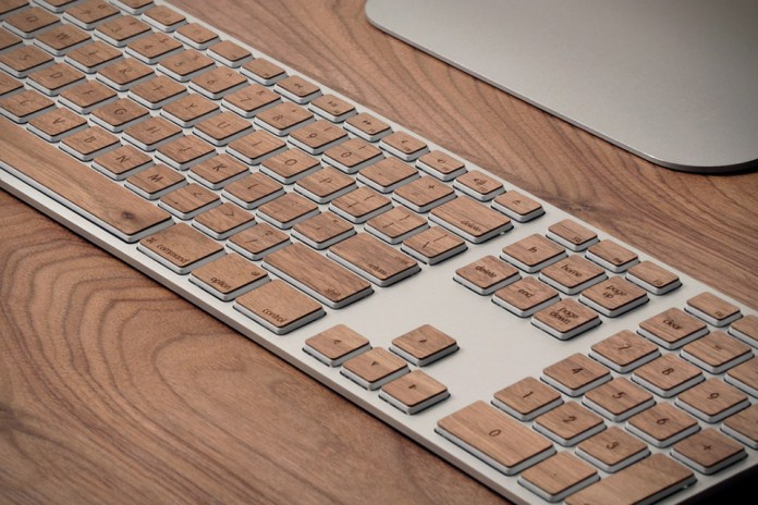 Spruce Up Your Mac Keyboard with Lazerwood Keys