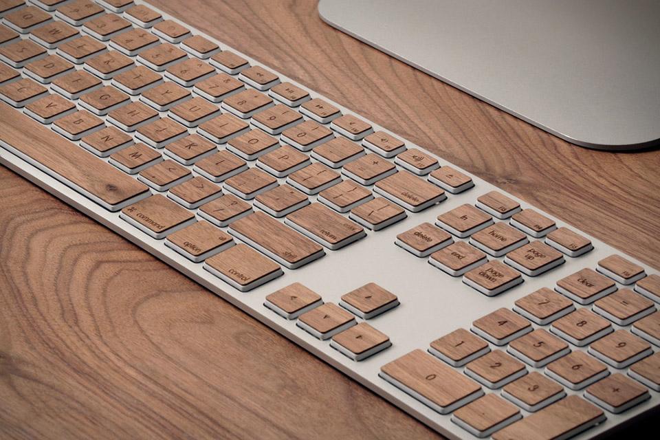 Spruce Up Your Mac Keyboard with Lazerwood Keys