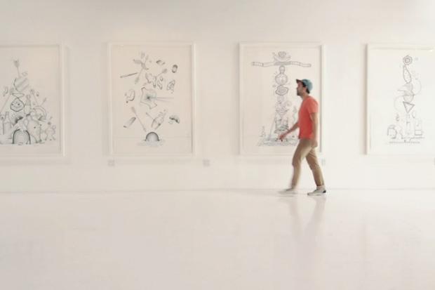 "Steven Harrington Balances Life for ""INSIDEOUT"" Exhibition Video"