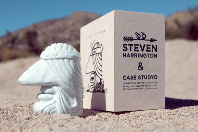 Steven Harrington x Case Studyo The Thinker Sculpture