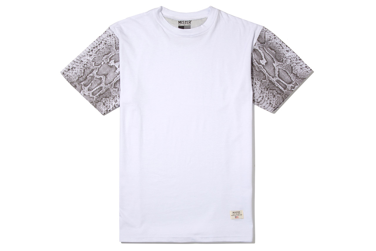 Stevin Gold x Mister 2012 Fall/Winter Snake Sleeve T-Shirts
