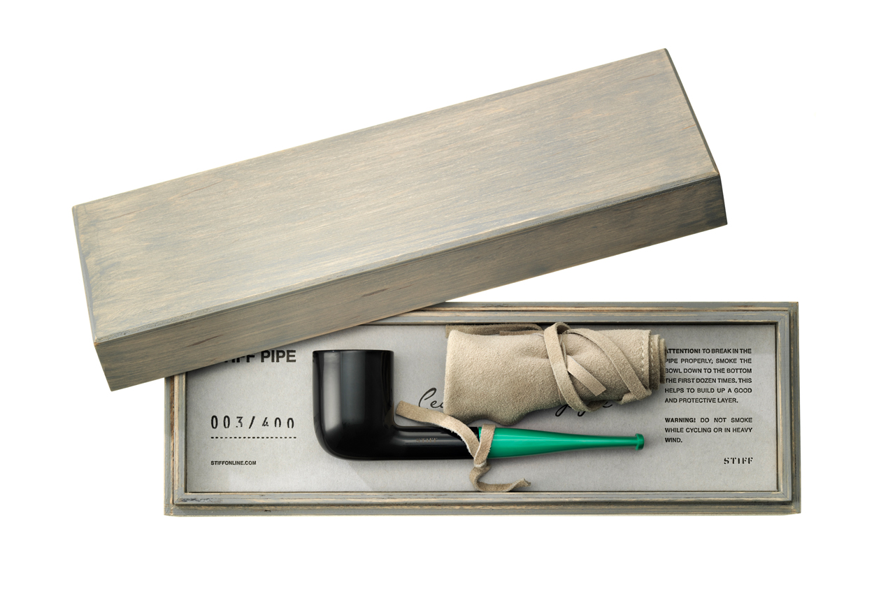 stiff releases a dieter rams inspired smoking pipe