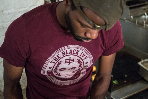 "Street Etiquette x The Brooklyn Circus ""Black Ivy"" T-Shirts"