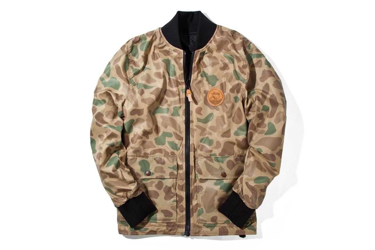 Stussy 2012 Fall/Winter Northern Reversible Jacket