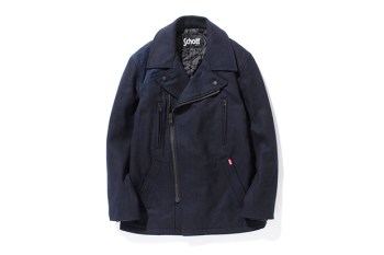 Stussy x Schott Military Pea Coat