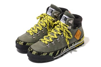 Stussy x Undefeated x The North Face Tiger Camo Back to Berkeley Hiking Boots