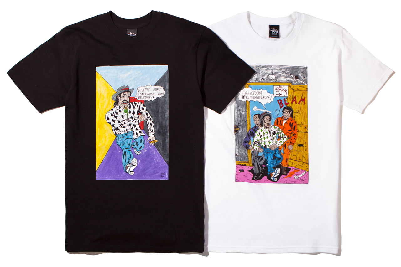 Stussy x Real Deal Comix 2012 Fall/Winter Capsule Collection