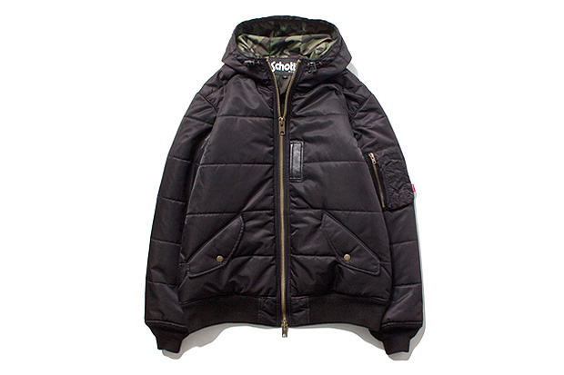 Stussy x Schott MA-1 Puffy Jacket