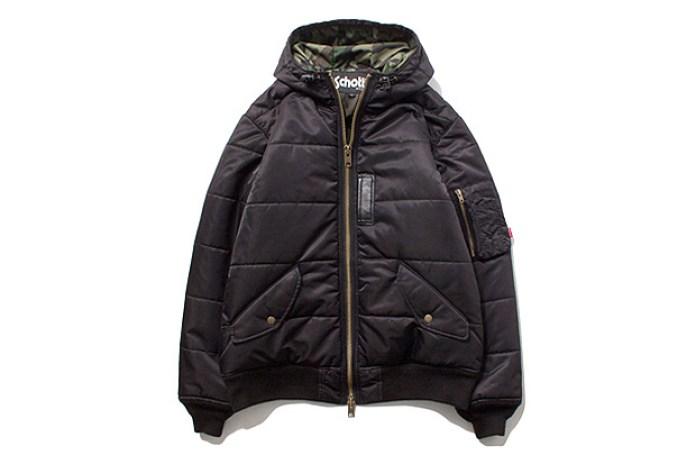 Stussy x Schott MA-1 Puffy Jacket