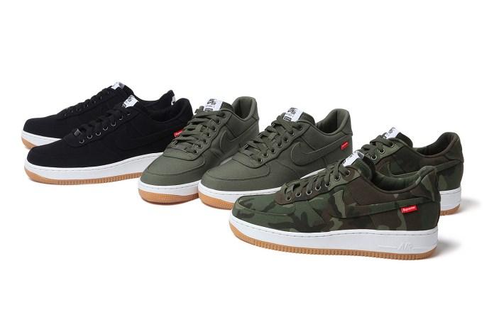 Supreme x Nike 2012 Air Force 1 - A Closer Look