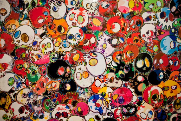"Takashi Murakami ""Flowers & Skulls"" Exhibition @ Gagosian Gallery Hong Kong Recap"
