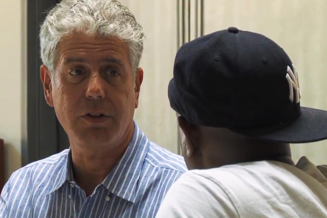 Talib Kweli Talks Brooklyn's Gentrification and Food with Anthony Bourdain