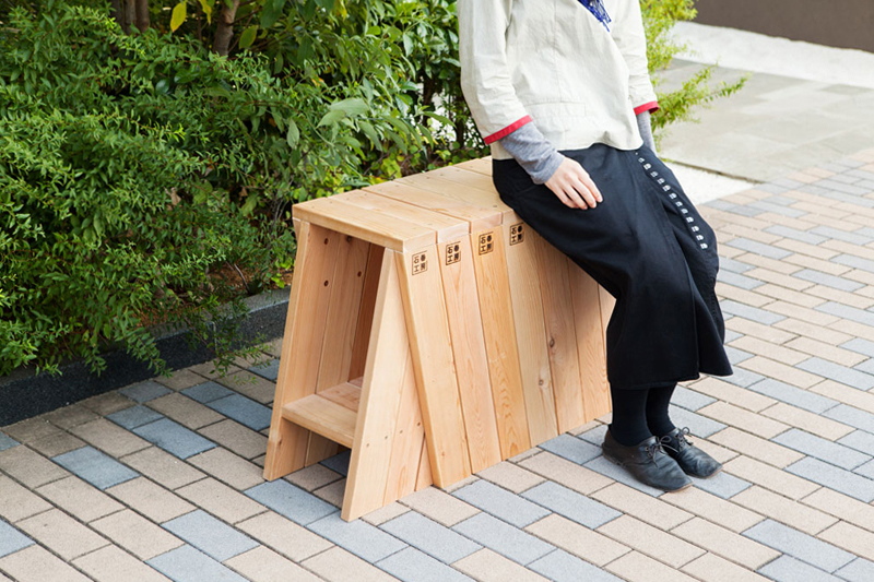 The AA Stool by Torafu Architects