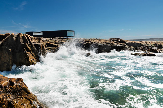 The Fogo Island Studios by Saunders Architects