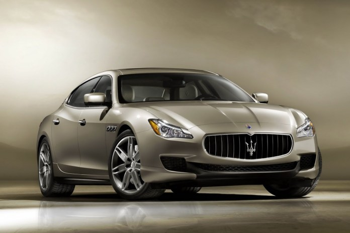 The Maserati 2014 Quattroporte Set to be Unveiled at the Detroit Auto Show