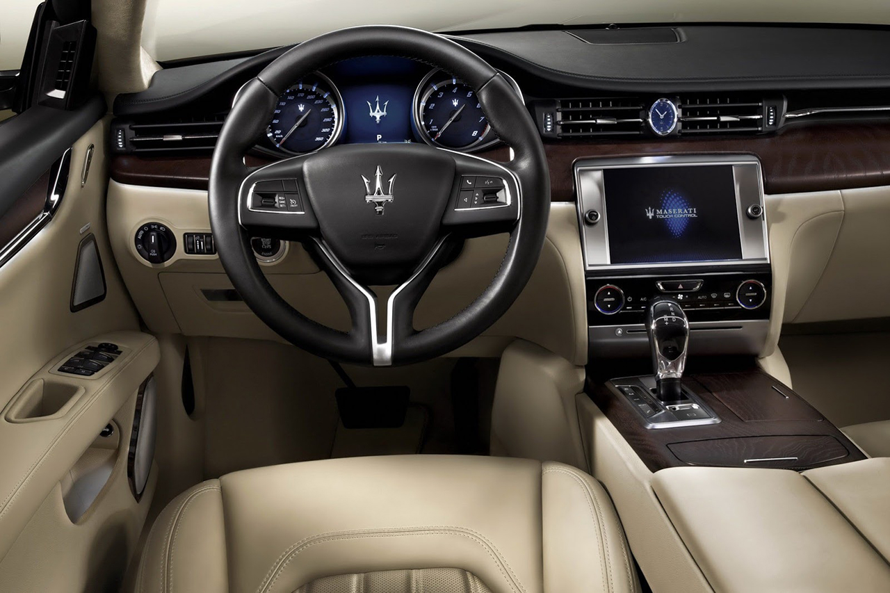 The Maserati 2014 Quattroporte Set to be Unveiled at the Detroit Auto Show