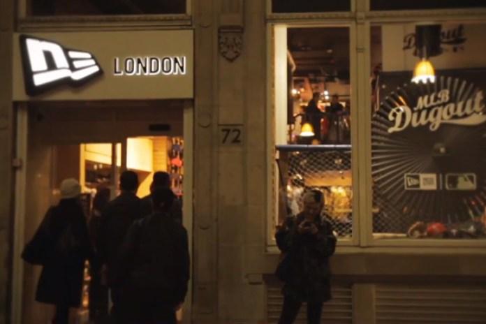 The MLB Makes Moves at the New Era London Store