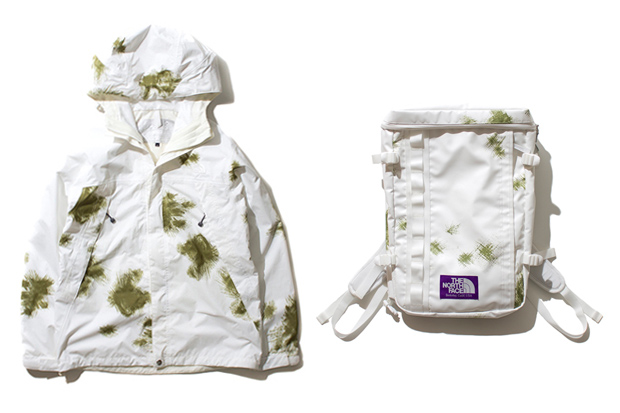the north face purple label 2012 fall winter white collection