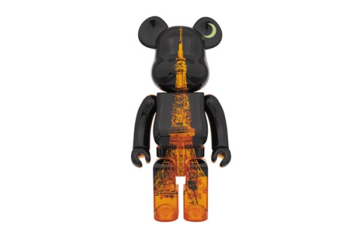Tokyo Tower x Medicom Toy Bearbrick 400% 55th Anniversary