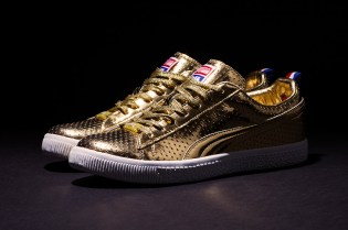 "UNDFTD x PUMA Clyde ""Gametime"" 24k Metallic Gold - A Closer Look"