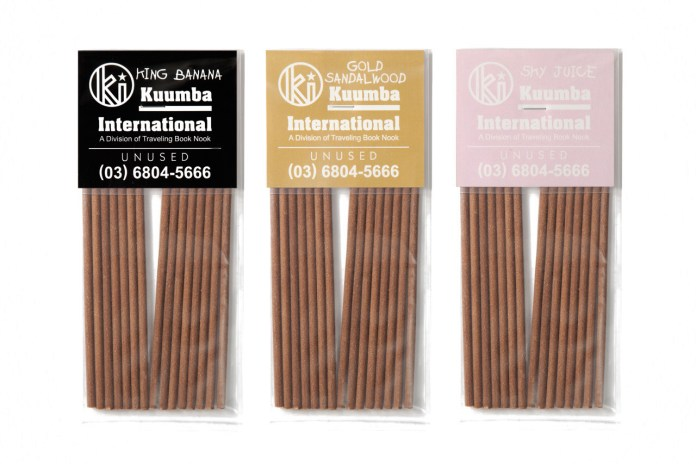 UNUSED x Kuumba International Incense