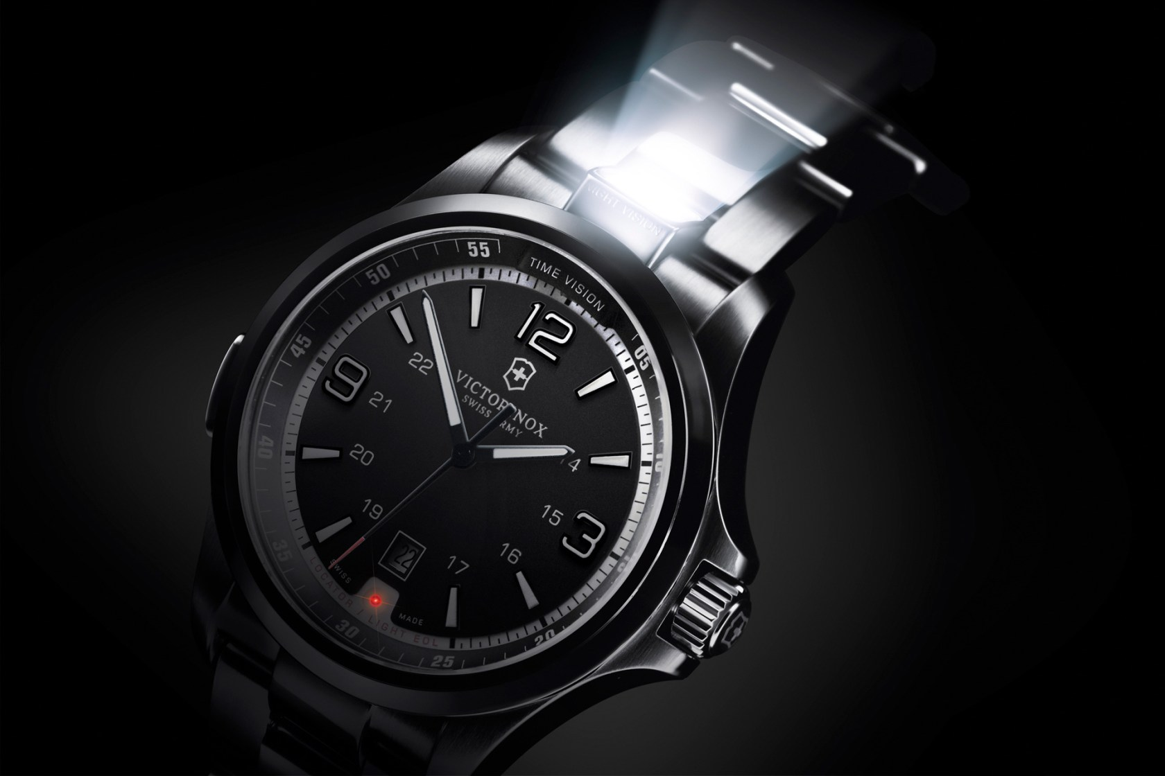 Victorinox Night Vision Watch with Rescue Function