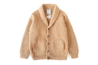 visvim CROCHET CARDIGAN FR (NATURAL DYE)