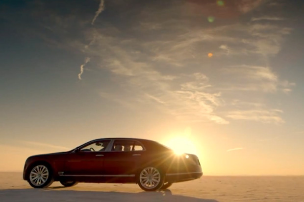 Watch Bentley's Monster Mulsanne Hit Almost 200 MPH