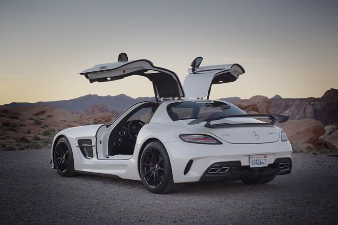 Watch the Mercedes-Benz AMG SLS Black Series Hit the Streets in HD Action