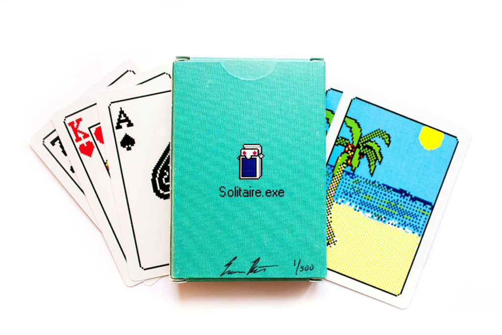 """Windows 98 """"Solitaire.exe"""" Bicycle Playing Cards"""