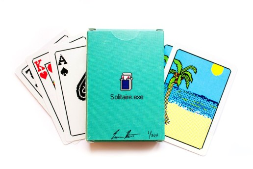 "Windows 98 ""Solitaire.exe"" Bicycle Playing Cards"