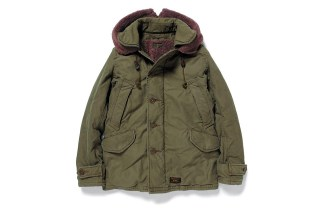 WTAPS 2012 Fall/Winter B-9 COTTON SATIN JACKET