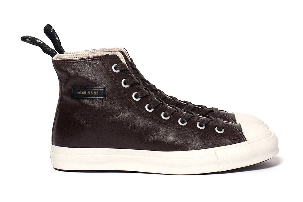WTAPS 2012 Fall/Winter Leather Sneakers